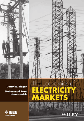 The Economics of Electricity Markets by Darryl R. Biggar and Mohammad Reza Hesamzadeh