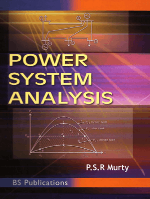 Power System Analysis by PSR Murthy