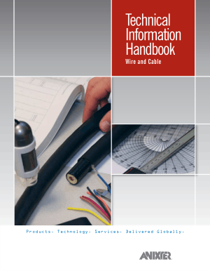 Technical Information Handbook Wire and Cable Fifth Edition