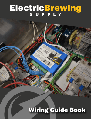 Electric Brewing Supply Wiring Guide Book