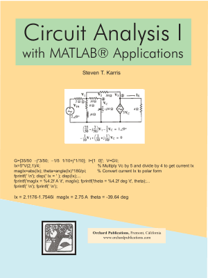 Telecharger livre Circuit Analysis I with Matlab Applications