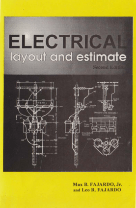 Electrical Layout and Estimate Second Edition by Max B Fajardo and Leo R Fajardo