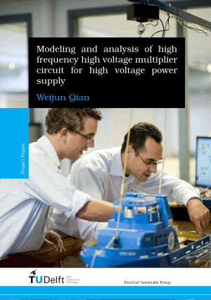 Modeling and Analysis of High Frequency High Voltage Multiplier Circuit for High Voltage Power Supply by Weijun Qian