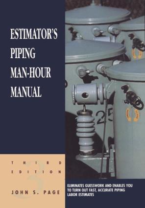 Estimators Electrical Man Hour Manual Third Edition John S Page