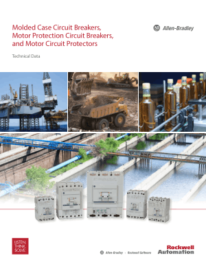 Molded Case Circuit Breakers Motor Protection Circuit Breakers and Motor Circuit Protectors