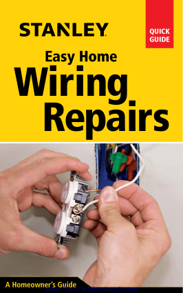 Stanley Easy Home Wiring Repairs at Home