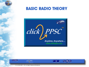 BASIC RADIO THEORY tutorial