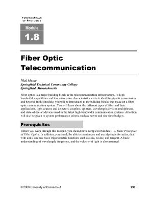 fiber optic telecommunication nick massa