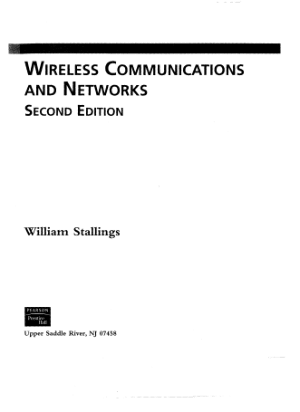 wireless communications and networks second edition