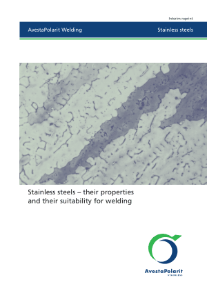 Stainless steels their properties and their suitability for welding