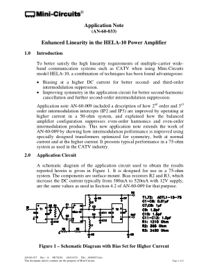 Enhanced Linearity in the HELA-10 Power Amplifier