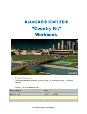 AutoCAD Civil 3D 2014 Country Kit for Czech Republic