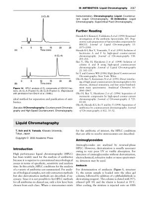 ANTIBIOTICS Liquid Chromatography