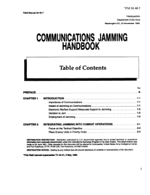 Communications Jamming Handbook Tech Books Yard