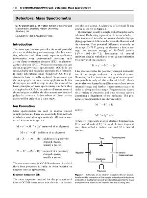 Detectors Mass Spectrometry