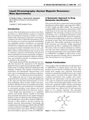 DRUGS AND METABOLITES Liquid Chromatography Nuclear Magnet