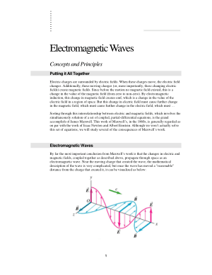 Electromagnetic Waves Concepts and Principles