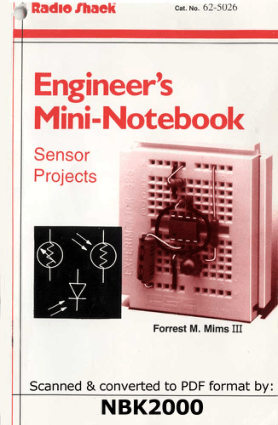 Engineers Mini Notebook Sensor Projects Forrest Mims