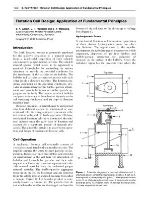 Flotation Cell Design Application of Fundamental Principles
