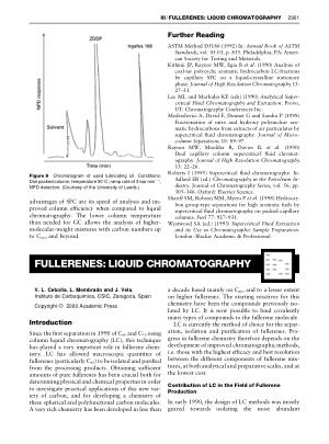 FULLERENES LIQUID CHROMATOGRAPHY