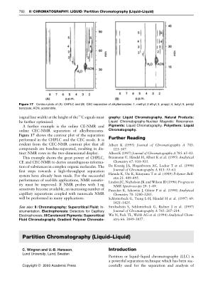 Partition Chromatography (Liquid Liquid)