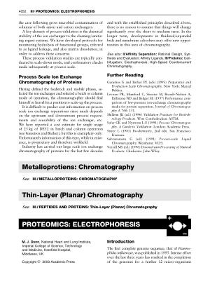 PROTEOMICS ELECTROPHORESIS