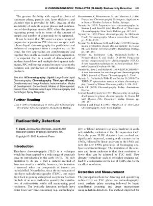 Radioactivity Detection