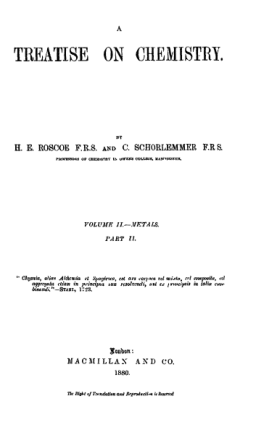 A Treatise on Chemistry Vol2 Part-2