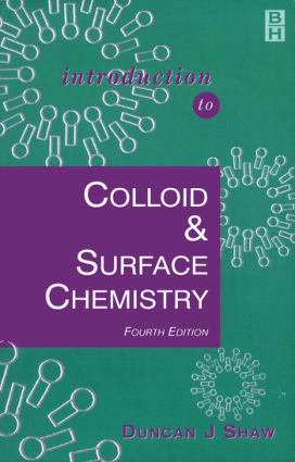 Colloid and Surface Chemistry (Duncan Shaw)