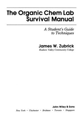 James Zubrick Organic Chem Lab Survival Guide [2E OCR]