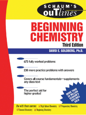 Schaums Outline of Theory and Problems of Beginning Chemistry