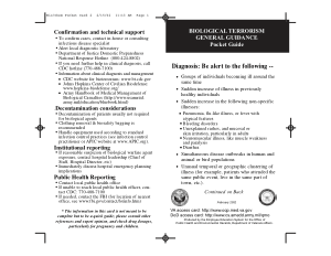 Biological Terrorism Pocket Card2