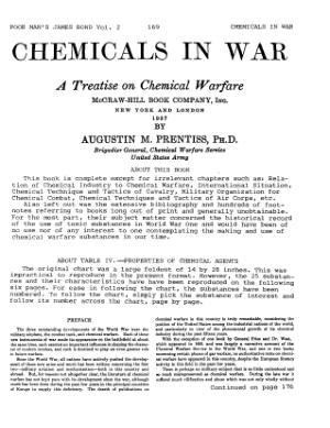 Chemicals in War – Austin Prentiss