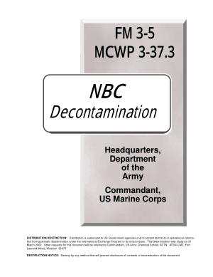 NBC Decontamination