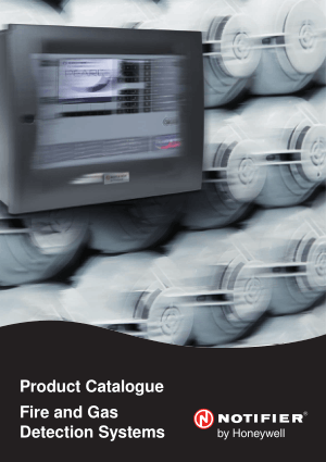 NOTIFIER Fire and Gas Detection Systems Product Catalogue