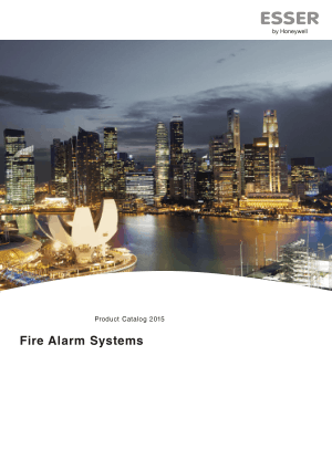 Product Catalogue Esser Fire Alarm