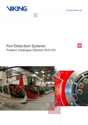 Fire Detection Systems Product Catalogue