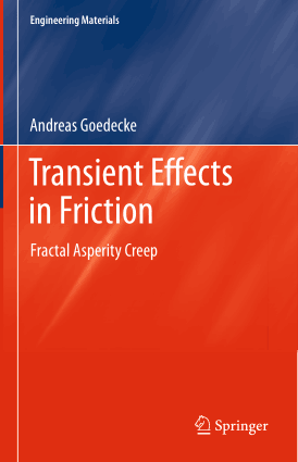 Transient Effects in Friction Fractal Asperity Creep