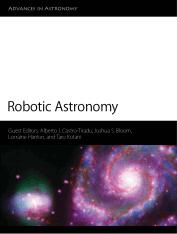 Robotic Astronomy