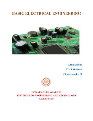 Basic Electrical Engineering V.HimaBindu V.V.S Madhuri