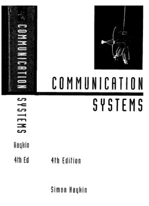 simon haykin communication systems 4th edition with solutions manual