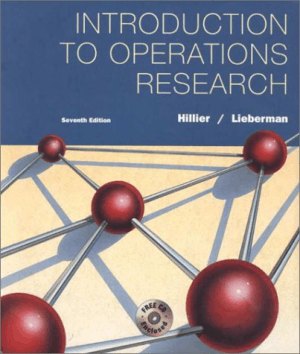 introduction to operations research seventh edition fredericks. hillier