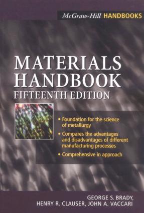 Materials Handbook 15th edition