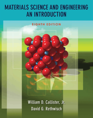 materials science and engineering an introduction eighth edition by william d callister jr