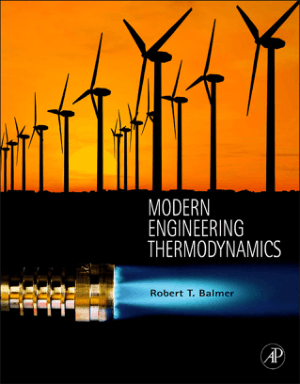 Modern Engineering Thermodynamics Robert T. Balmer
