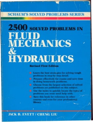 2500 SOLVED PROBLEMS in fluid mechanics and hydraulics_Part1
