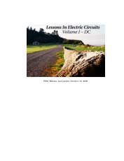 Lessons In Electric Circuits Volume I DC