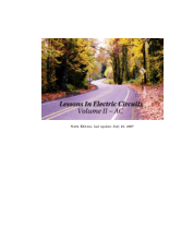 Lessons In Electric Circuits Volume II AC
