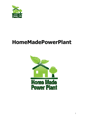 Home Made Power Plant
