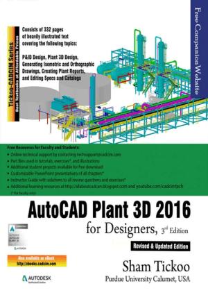 AutoCAD Plant 3D 2016 for Designers